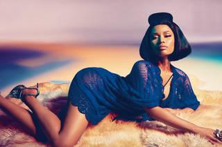 Süße Nicki Minaj.